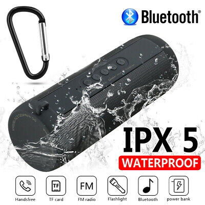 AU29.35 • Buy Waterproof Portable Wireless Bluetooth Stereo Music Speaker For IPhone Samsung