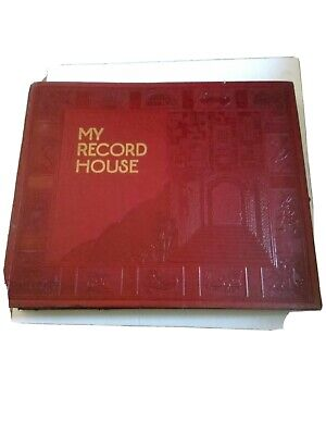 $20 • Buy VintagevMy Record House Record Holder With 10- 45-rpm Records 1930 To 1950