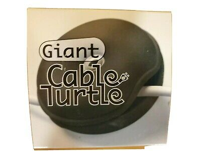$4.99 • Buy NEW WHITE ~ GIANT CABLE TURTLE ~ Organize Your Cables ~WIRES ~earphones~Computer