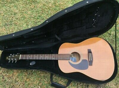 $558.59 • Buy 2004 CANADA Seagull S6+ Cedar Original Acoustic Electric Left Handed Guitar USED