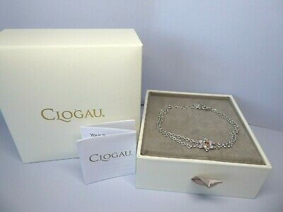 Clogau Gold, Silver & Rose Gold Daffodil Bracelet 7 1/2  RRP £129 • 69£