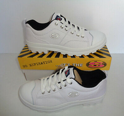 SKECHERS New True Roots Ladies White Memory Foam Chunky Trainers UK Size 7 • 35.48£