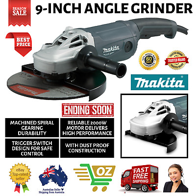 AU198.43 • Buy Makita 9-inch Angle Grinder 230mm 9 Inch Powerful 2000W