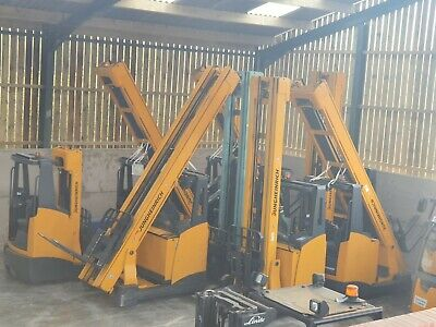 High Spec Jungheinrich Reach Trucks 2011 Or Younger Forklift Electric & Chargers • 6,950£