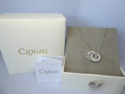 Clogau Gold, Silver & Rose Gold Tree Of Life Links Necklace, 18  Chain RRP £169 • 69£