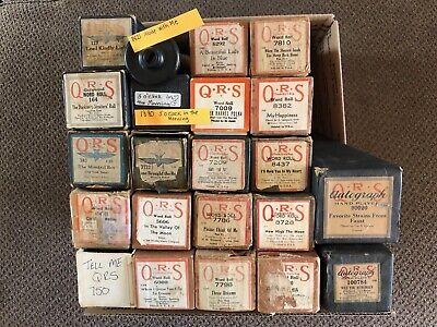 $ CDN9.40 • Buy QRS Piano Rolls- Piano Music -You Pick From 22 Rolls- See DESCRIPTION