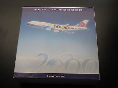 $100 • Buy Dragon Wings China Airlines. B747-400ER. 1:400 Scale. Millennium Dragon 2000.