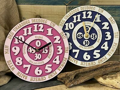 Welsh Learn The Time Clock • 26£