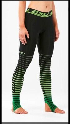 2XU Women's Power Recovery Compression Tights, Pants, Underwear, Ski, Skiing, L • 69.99£