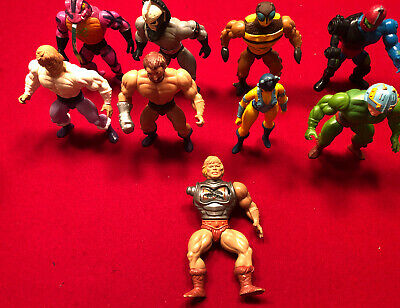 $64.99 • Buy Vintage MOTU He-Man Masters Of The Universe 80's Action Figure Lot Of 9