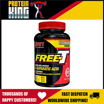 AU52.95 • Buy San Free T 120 Caps Test Booster Build Muscle Recovery Libido D-aspartic Acid