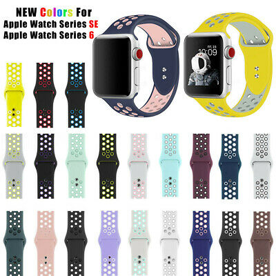 $ CDN7.28 • Buy Sport Silicone Band Bracelet For Nk+ Apple Watch Series 1 2 3 4