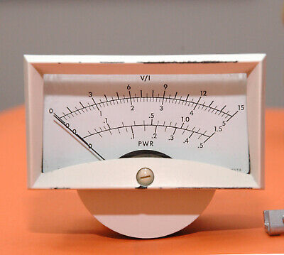 AU127.96 • Buy Rockwell Collins HF-8023 Linear Amplifier Front Panel Meter-Api Instruments