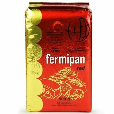 YEAST 500g Fermipan Instant Dried Yeast For Bread Bakers Bakery - Expiry 06/2022 • 8.20£