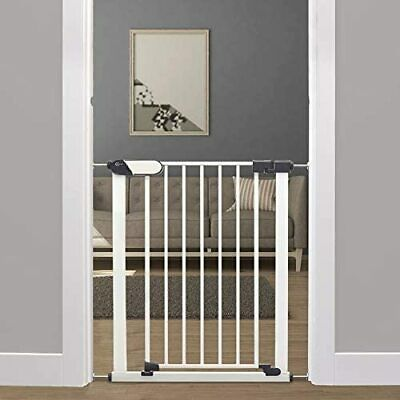 Callowesse® Kemble Pressure Fit Safety Baby & Pet Gate, 75-82cm - White • 24.99£