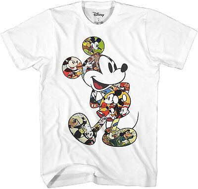 $19.99 • Buy Mickey Mouse Scene Me Vintage Classic Adult Tee Graphic T-Shirt For Men Tshirt