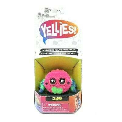 $11.99 • Buy Yellies!  Sammie  Voice Activated Spider Pet-Eyes Light Up Legs Move To Voice