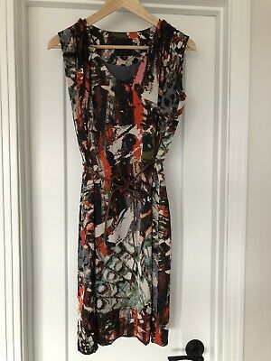 $40 • Buy InWear Dress (Danish Design) Silky Feel, Loose Fit With Belt Size 6