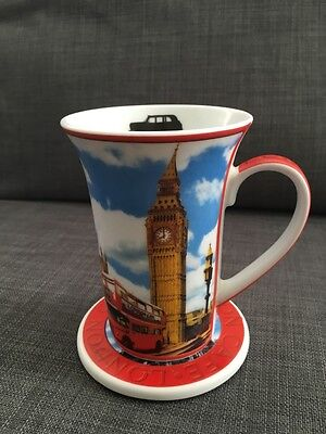 Paul Cardew London Cafe 14OZ Mug And Coaster Set No Tin  • 6.65£