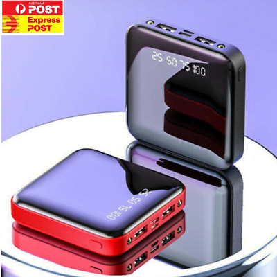 AU14.99 • Buy 12000mAh Power Bank Type C Universal 2USB Fast Charge Portable Battery Charger