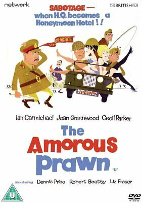 The Amorous Prawn (DVD) Ian Carmichael, Joan Greenwood, Cecil Parker • 7.99£