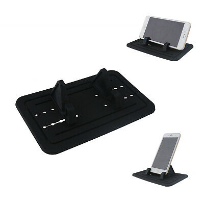 Black Sticky Pad Car Dashboard Mount Holder Cradle For Cell Phone Below 7  • 8.13£