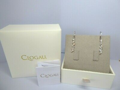 Clogau Gold Silver & Rose Gold Celebration Drop Earrings RRP £119. • 52£