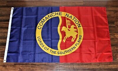 $12.95 • Buy New Comanche Nation Banner Flag Native American Indian Tribe Tribal Battle
