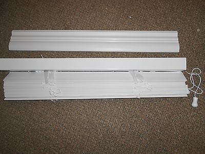 $ CDN34.26 • Buy Blinds Faux Wood 30 X 72  White 2   Mobile Home RV Camper House *NEW*