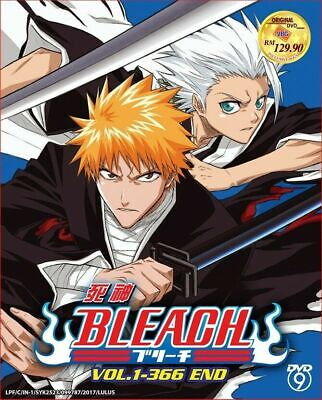 Anime DVD BLEACH Complete Collection DVD Box Set (Vol. 1-366) - EXPRESS SHIPPING • 36.99£