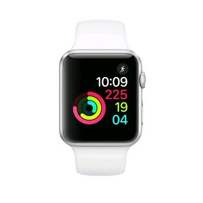 $ CDN267.64 • Buy Apple Watch Series 1 38mm Aluminum Case White Sport Band - (MNNG2LL/A)
