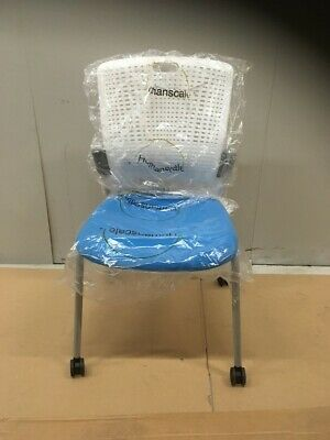 New - Humanscale Cinto Chairs With Castors And Seat Pad • 30£