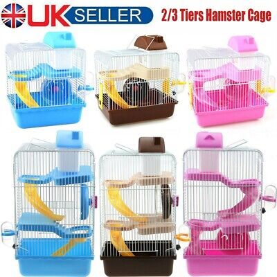 £18.99 • Buy Pet Ting Jasmine Hamster Cage Large With Running Tubes Gerbil Syrian Dwarf Cages