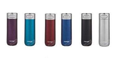 AU52 • Buy 1 Or 2 Contigo Luxe Autoseal Travel Mug 414ml Coffee Flask BPA Free Thermos New