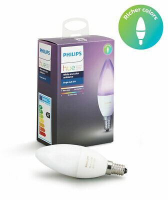 AU69 • Buy Philips Hue Single Bulb E14 - White And Coloured Light