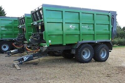 £37000 • Buy KTwo 1800 Weigh Cells, Steering Axle, 650/55R26 Tyres, Compactor Silage Trailer