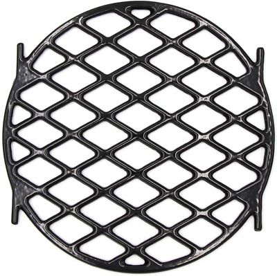$ CDN56.38 • Buy BBQ Sear Grate 12  Enamel Cast Iron Round Grid For 22.5  Weber Charcoal Grill