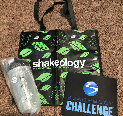 £25.45 • Buy NEW Gift Set Lot Of 3 SHAKEOLOGY Items SHAKER TUMBLER CUP 25 OZ MOUSE PAD & BAG