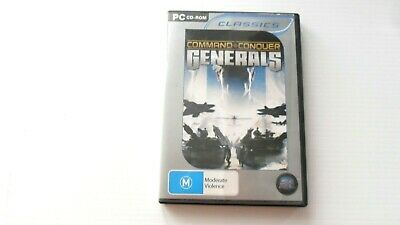 AU109.15 • Buy Command & Conquer Generals Pc Game Ea Games