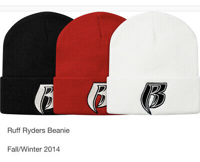 $ CDN194.63 • Buy Supreme Ruff Ryders Beanie Red OS FW14 DS NIB