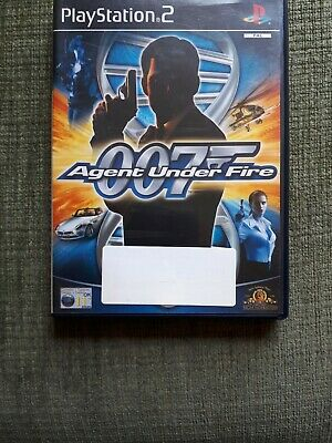 PS2 James Bond 007 In Agent Under Fire PAL . • 2.99£