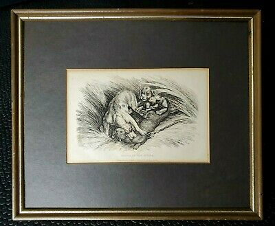 £95.58 • Buy Samuel Howitt Engraving  Death Of The Otter  Publish J Whible *Non Painted