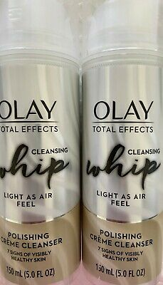 $15.99 • Buy ✦ New ✦ 2 Olay Total Effects Cleansing Whip Polishing Creme Cleanser