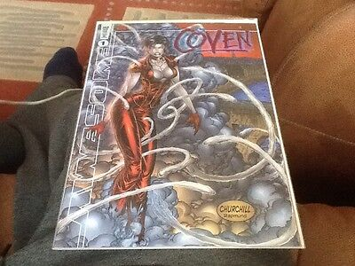 Dynamic Forces The Coven #1 Volume 2 Exclusive Foil Cover • 8£