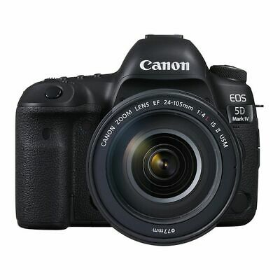 $ CDN5259.91 • Buy Near Mint! Canon EOS 5D Mark IV 24-105mm F/4L IS II USM - 1 Year Warranty