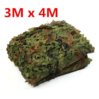 3M X 5M Military Hunting Camping Shooting Camouflage Net Camo Netting Cover Hide • 13.27£