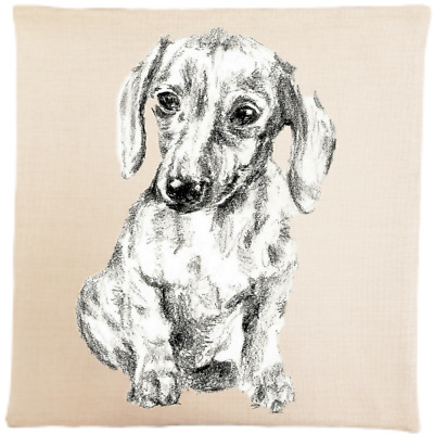 Dachshund Cushion Cover Superior Quality Pillow Large Size Sausage Dog  • 12.99£