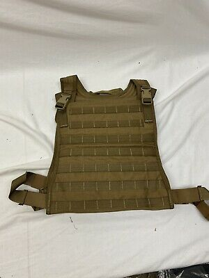 $101.99 • Buy Eagle Allied Industries USMC Coyote Body Armor MBSS Plate Carrier L/XL FSBE