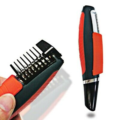 $ CDN26.23 • Buy Shaver Grooming Remover Hair Trimmer 2 In 1 Male Switchblade Mustache Beard
