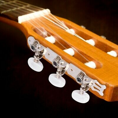 $10.01 • Buy Acoustic Classical Guitar Tuning Pegs Keys Tuners Machine Heads 3+3